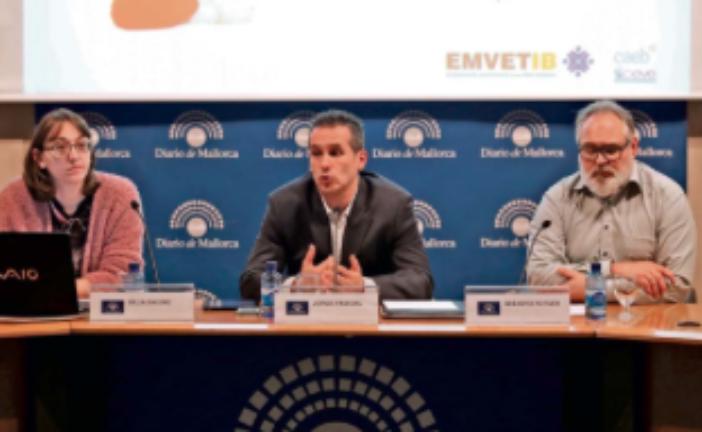 Charla del presidente de CEVE en Mallorca