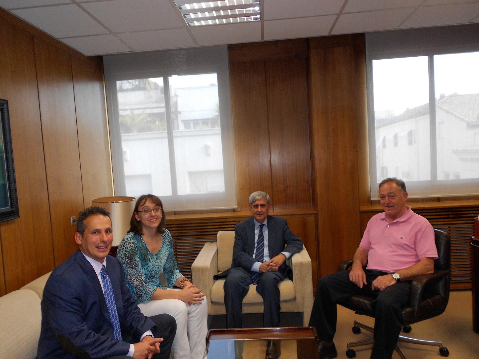 Los máximos representantes de la CEVE y el COV se reúnen en Madrid