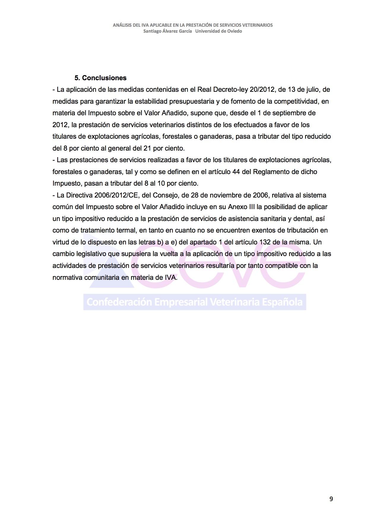 INFOME JURIDICO SOBRE EL IVA10 VETERINARIO DESBLOQUEADO