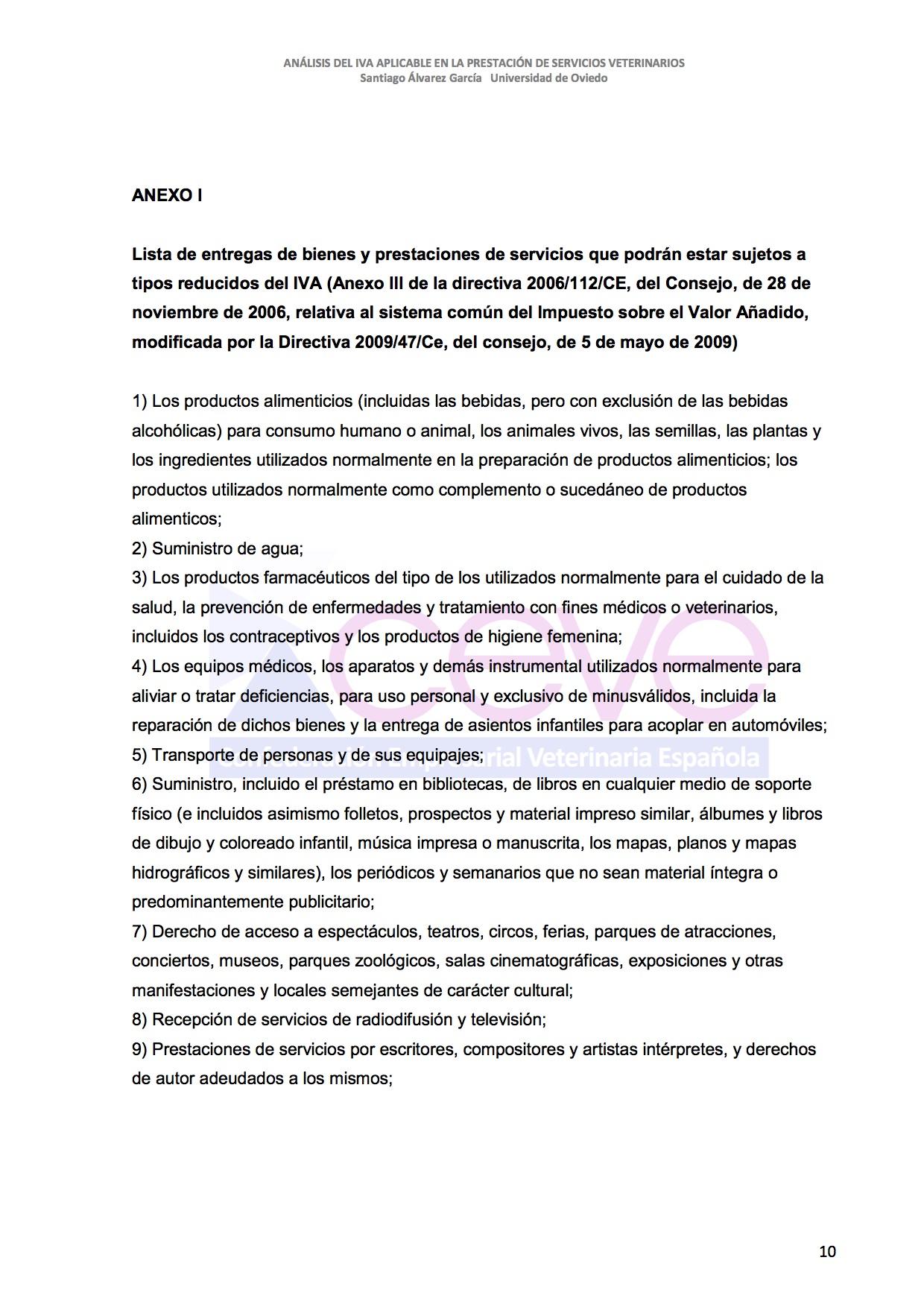 INFOME JURIDICO SOBRE EL IVA11 VETERINARIO DESBLOQUEADO