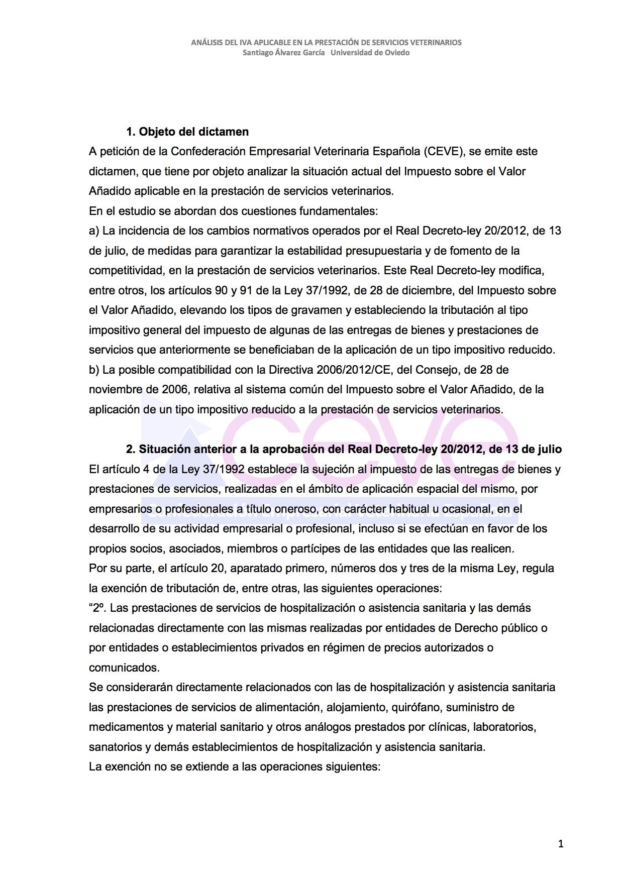 INFOME JURIDICO SOBRE EL IVA2 VETERINARIO DESBLOQUEADO