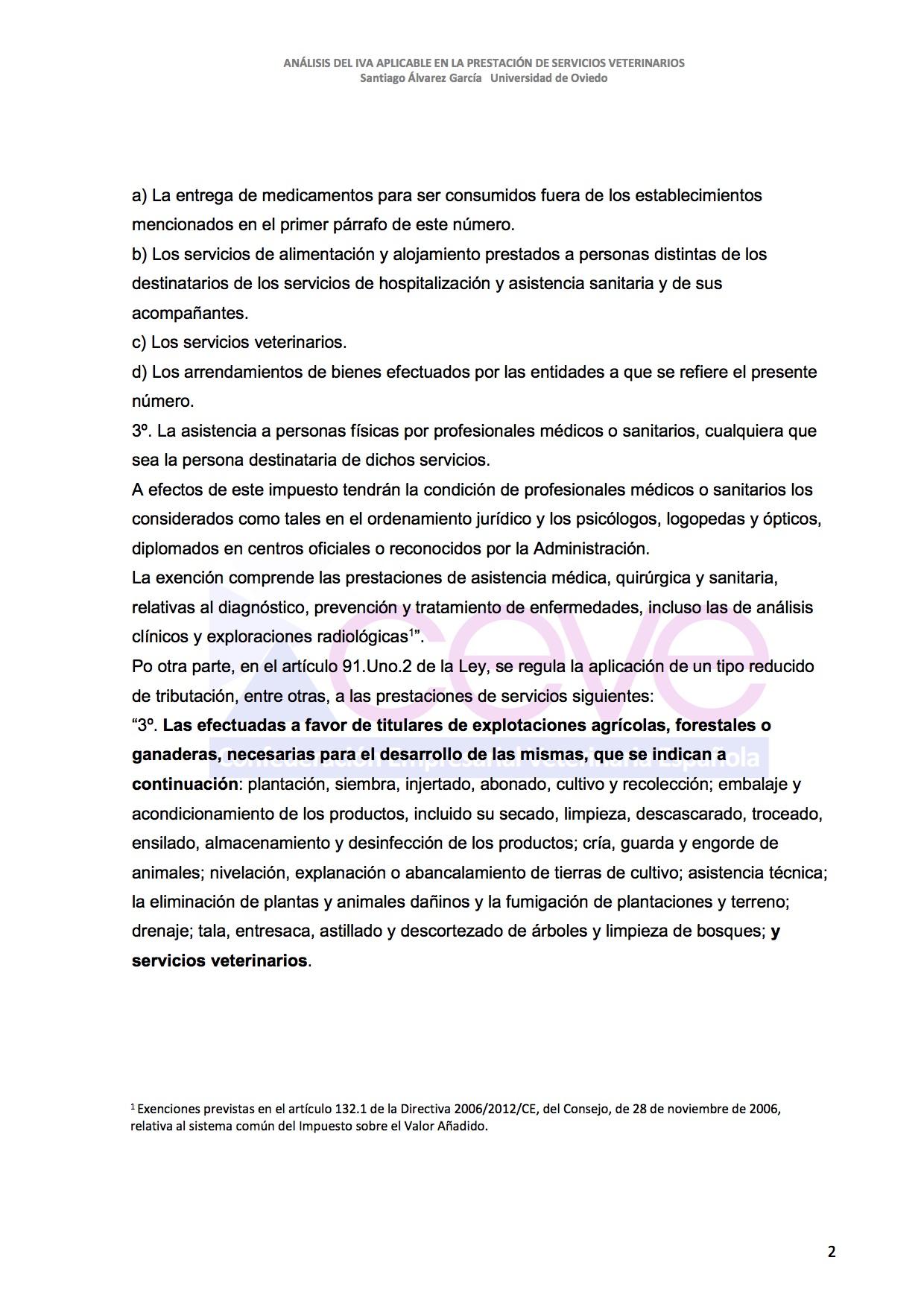 INFOME JURIDICO SOBRE EL IVA3 VETERINARIO DESBLOQUEADO