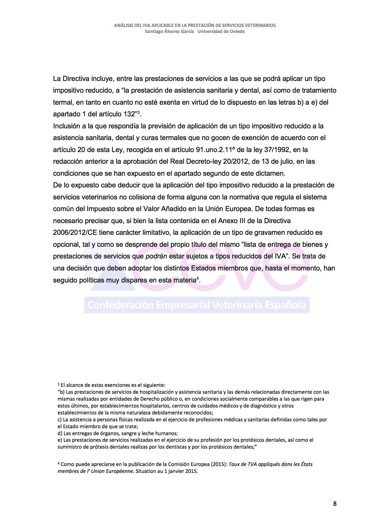 INFOME JURIDICO SOBRE EL IVA9 VETERINARIO DESBLOQUEADO