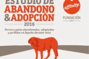 Estudio de abandono & adopción 2016, realizado por la fundación affinity