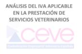 ANÁLISIS DEL IVA APLICABLE EN LA PRESTACIÓN DE SERVICIOS VETERINARIOS