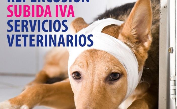 Estudio de la repercusión de la subida del IVA en los servicios veterinarios en el sector de los animales de compañía