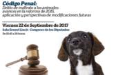 CEVE en la IV Jornada Parlamentaria de Protección Animal