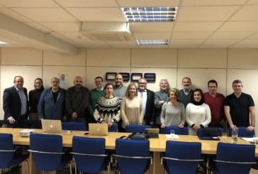 El grupo de comunicación de CEVE reunido en Madrid