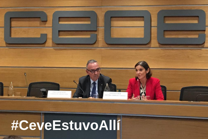 CEVE participa en el Consejo de Turismo de la CEOE… y sorprende.