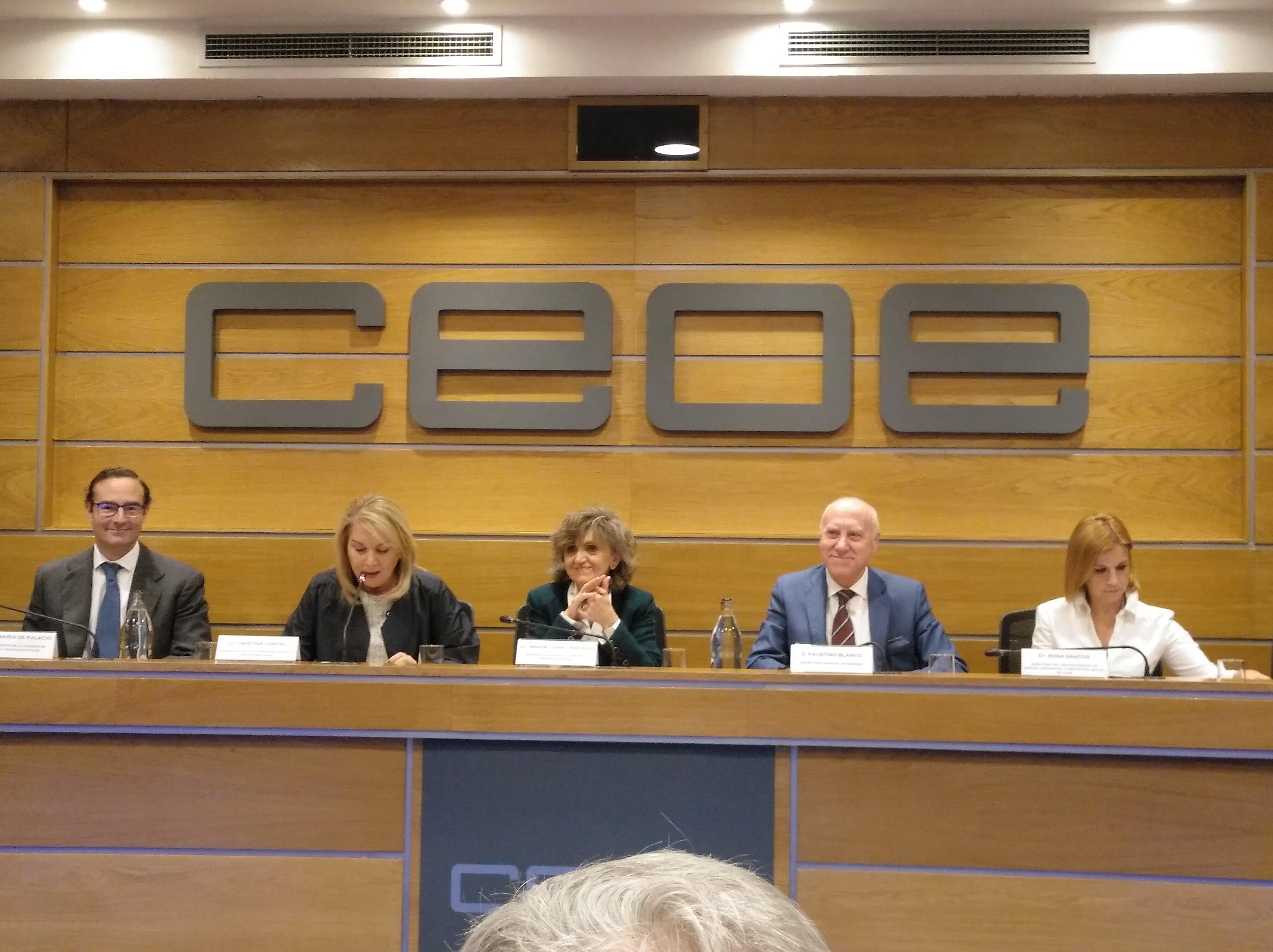 CEVE EXPONE LAS DEMANDAS DEL SECTOR AL MINISTERIO DE SANIDAD