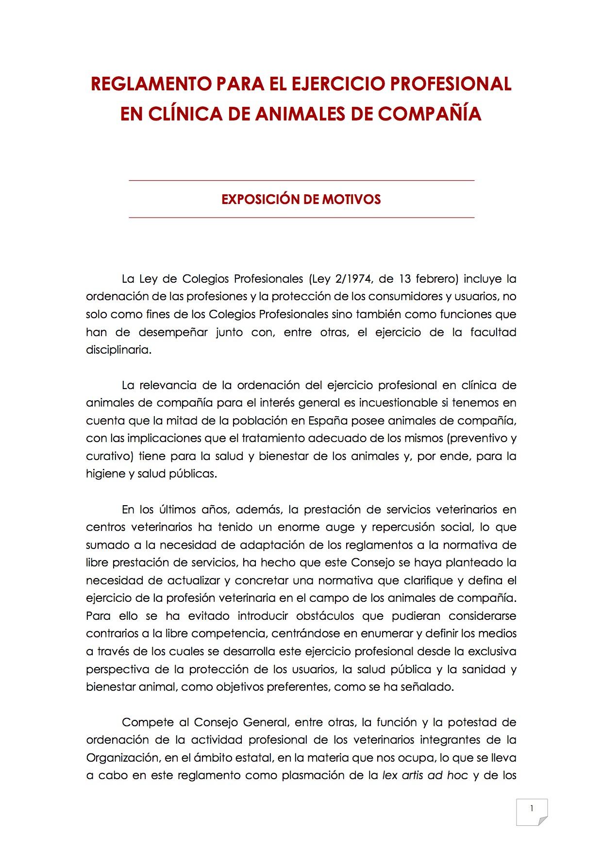 reglamento2_para_el_ejercicio_profesional_en_clinica_de_animales_de_compania
